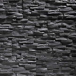 Paneles de poliestireno expandido/Benevento negro/revestimiento de piedra/decoración para paredes/azulejos/ revestimiento para paredes