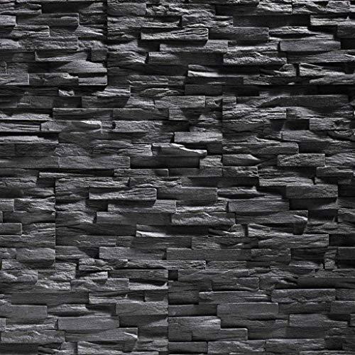Paneles de poliestireno expandido / Benevento negro/ revestimiento de piedra / decoración...