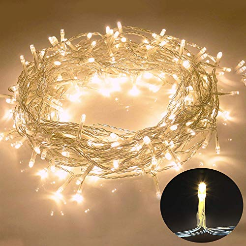 Galaxer Luces Hadas 80 Pcs LED Night Christmas String