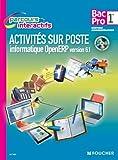 Image de Activités sur poste informatique openERP version 6.1. 1re Bac Pro