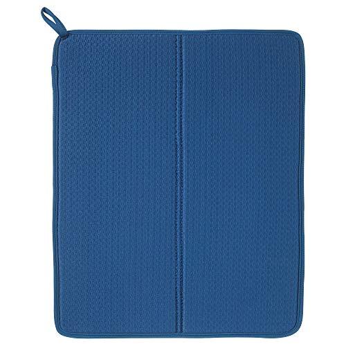 "IKEA PLASTIS Dish Drying mat, Blue, 44x36 cm (17 Œx14 Œ"")"