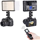 Neewer® Photo Studio LED308C 308PCS LED Ultra High Power Dimmable Video Light with Built-in LCD Panel, Including 16CH Wireless Remote Control, A Portable Handle and A Mini Stand for Canon, Nikon, Pentax, Panasonic, Sony, Samsung, Olympus and Other Digital DSLR Cameras or Camcorders