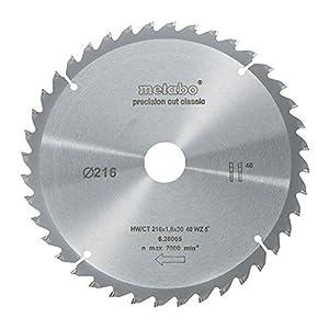 Metabo 628065000 216 x 30.40WZ5 HW/CT CircularSaw Blade