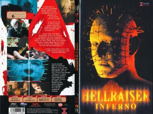 Hellraiser 5 - Inferno : Uncut Limited Edition 222 pc - Large Hardbox by Craig Sheffer