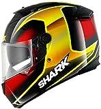 Shark Speed-R Series 2 Starq Helm L (59/60) Schwarz/Rot/Gelb