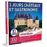 SMARTBOX - Coffret Cadeau - CHÂTEAUX ET GASTRONOMIE - 3 JOURS - 220 séjours : châteaux et manoirs jusqu'à 4* dont 26 du guide MICHELIN...