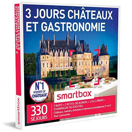 SMARTBOX - Coffret Cadeau - CHÂTEAUX ET GASTRONOMIE - 3 JOURS - 220 séjours :...