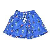 SKARK ONE Shorts Strand Kinder Unisex Sommer Sport Shorts atmungsaktiv mit Drawstring verstellbar, 4–14Jahren, blau, 10 Jahre