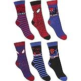 6er Pack Spiderman Kinder Jungen Socken Strümpfe Gr. 27 - 34