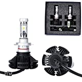 #7: PR Led Car Headlight Lamp Kit with 3 Color Temperature Films(Pure White, Light Blue, Yellow) (50W, 6000LM) for Volkswagen Polo New High Beam Beam (H7 Lamp Kit Set of 2)