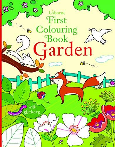 First Colouring Book Garden par Felicity Brooks