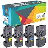 4 Do it Wiser ® Toner Kompatibel für Kyocera ECOSYS M5521cdw M5521cdn P5021cdn P5021cdw - TK-5220 TK5220   Schwarz: 12
