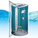 AcquaVapore DTP6037-4100 Dusche Duschtempel Komplett Duschkabine 100×100, EasyClean Versiegelung der Scheiben:2K Scheiben Versiegelung +99.-EUR - 4