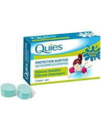 QUIES : Protection auditives natation silicone