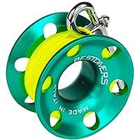 Scuba Divers ml0086, Angelrolle Unisex–Erwachsene, grün, 15Meter