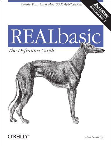 REALBasic: The Definitive Guide, 2nd Edition (Definitive Guides) (English Edition) eBook: Matt Neuburg: Amazon.es: Tienda Kindle