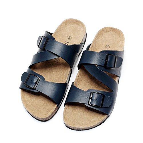 Sommer Skid Herrenschuhe/Flach Flip Flops/Herren äußere Abnutzung Hausschuhe C