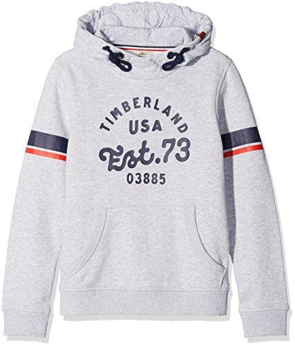 Timberland Jungen Kapuzen-Sweatshirt Sweat A Capuche, Grau (GRIS Chine A32), 10 Jahre (Her Preisvergleich