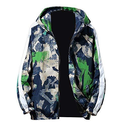 Luckycat Herren Herbst Winter Zip Camouflage Langarm Tasche Sport Hoodies Jacke Mantel Mode 2018 - Ecko Jungen Shorts
