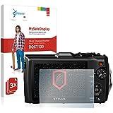 3x Vikuiti MySafeDisplay Screen Protector DQCT130 from 3M for Olympus Tough TG-4