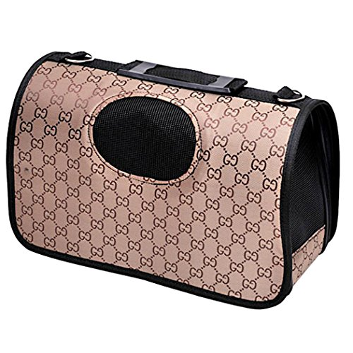 Yihya Portatile Traspirante Pet Carrier Bag Animale Domestico Borsa per