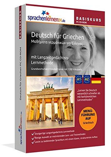 Sprachenlernen24.de Deutsch für Griechen Basis PC CD-ROM: Lernsoftware auf CD-ROM für...