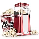 Savisto Vintage Retro Hot Air Popcorn Maker with 6 Popcorn Boxes