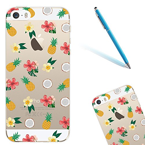 iphone-5s-handyhulle-40-apple-iphone-5-5s-se-cltpy-transparent-slim-fit-gel-softcase-mit-flamingo-sc