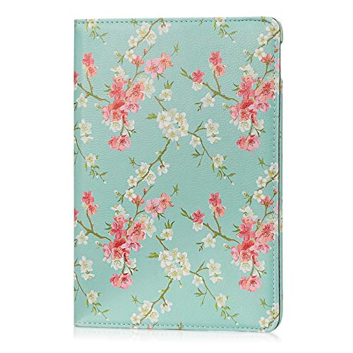 32nd Blumen Series - PU Leder Folio Hülle Case Flip Cover für Apple iPad Air 3 (2019) & Apple iPad Pro 2 10.5