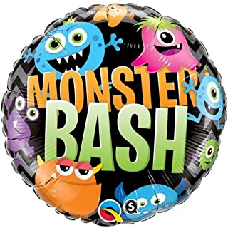 Qualatex Folienballon 18493 Monster, Chevron, 45,7 cm farbenreiche