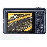 atFoliX Schutzfolie für Samsung WB35F Displayschutzfolie - 3 x FX-Antireflex blendfreie Folie