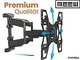[Premium] TV Wandhalterung MWH60A 81-190 cm (32-75 Zoll), SCHWENKBAR, NEIGBAR, DREHBAR, Universal TV Halterung für LED, LCD, OLED, Plasma und Curved Fernseher mit VESA 100x100-400x400