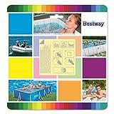 VARILANDO® Pool-Zubehör in verschiedenen Varianten Reparatur-Flicken Pool-Thermometer Blasebalg Luftpumpe Filter-Kartusche