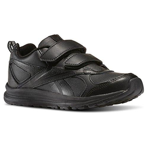 Reebok Almotio Rs 2v, Chaussures de Sport Garçon Noir (Black)