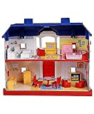 #7: Electrobot My Country Doll House Playset With Living Room ,Bed Room, Bath Room, Dining Room 24 Pieces