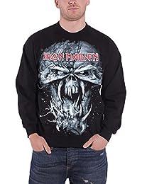 Iron Maiden Homme Sweat-Shirt Final Frontier Distressed Eddie band logo officiel