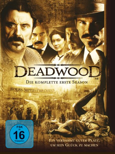 Paramount Home Entertainment Deadwood - Die komplette erste Season [4 DVDs]