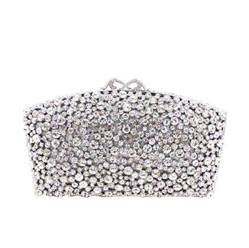 Borsa Da Cerimonia Di Cristallo Di Lusso Di Alta Qualità Borsa Da Sera Diamante Di Lusso B