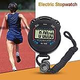 WINNER Sport cronometro timer, professionale palmare digitale LCD conto alla rovescia cronometro orologio con sveglia, calendario per atleti, Track & Field, corsa, nuoto, Traning