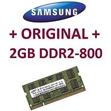 Mihatsch & Diewald/Samsung - memoria - 2 GB - SO-DIMM 200 pin - DDR2 - 800 mhz compatible DDR2 DELL portátiles