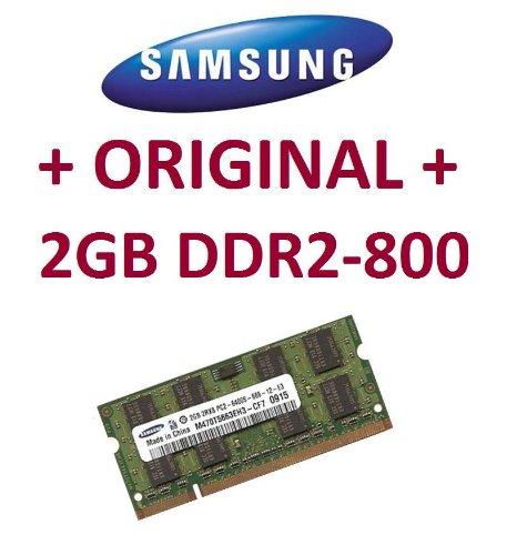 Mihatsch & Diewald/Samsung-Memoria-2GB-SO-DIMM 200pin-DDR2-800MHz, DDR2adatto per Notebook
