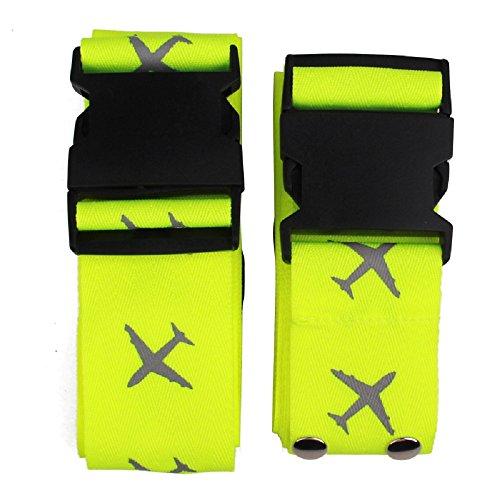 k-c-pesados-superior-fuerza-extra-largo-cruz-equipaje-correa-maleta-de-viaje-cinturn-etiquetas-verde