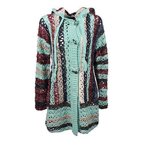 billig werden 60% Rabatt billig zu verkaufen khujo Damen Strickjacke Laddy Chunky Cardingan Knit türkis ...