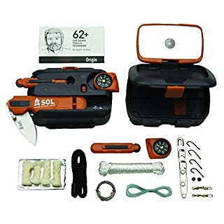 Abenteuer-Medizin-/Survival-Kit-Orange