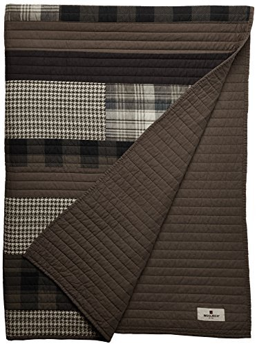 Woolrich WR50-1784 Winter Plains Quilted Throw, 50 x 70, Tan by Woolrich Woolrich Throw