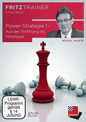 Mihail Marin: Power-Strategie 1 – Aus der Eröffnung ins Mittelspiel