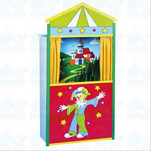 Clown Kulisse (beluga Spielwaren 50128 Kasperltheater, Puppe)