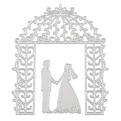 Hochzeit Stil Metall Stanzformen Schablonen DIY Scrapbooking Album Papier Karte Handwerk (F)