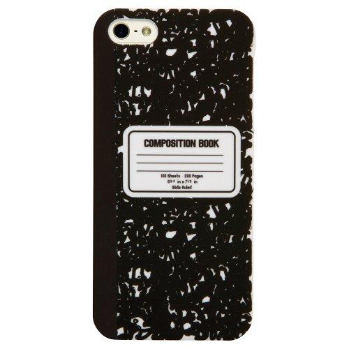 C.I.D. DCI Office Supplies Zusammensetzung Pad iPhone 5/5S Cover-Retail Verpackung-Schwarz/Weiß