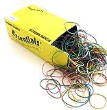 Whitecroft Essentials - Gomas elásticas (tamaños y colores surtidos, 454 g)